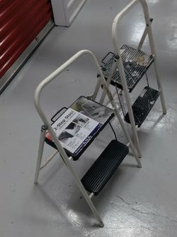 Two Functional Step Ladders for Sale in Bellaire,  TX