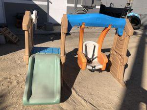 Slide and baby swing set for Sale in Glendale, AZ