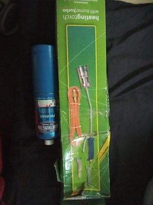 Heating Torch with burner turbo for Sale in Bridgeport, CT