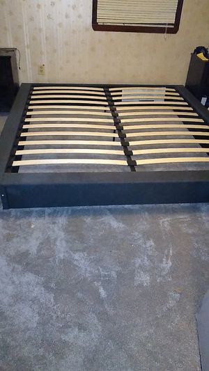 King size bed frame and two box springs for Sale in Leechburg, PA