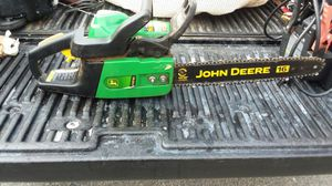 Jd chainsaw for Sale in Plymouth, MA