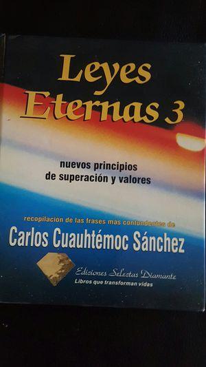 Leyes eternas 3 de carlos cuauhtemoc sanchez for Sale in Compton, CA
