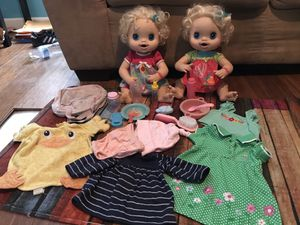 Twins baby alive dolls for Sale in Raleigh, NC