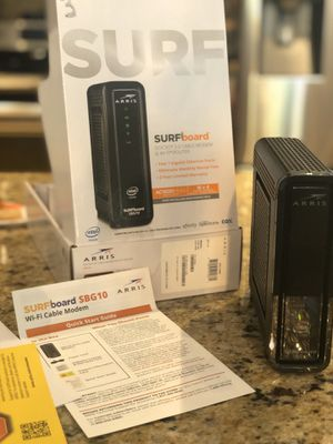 Arris Surf Cable modem and Wi-Fi router for Sale in Davie, FL