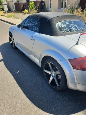 Audi tt en buenas condiciones for Sale in Ceres, CA
