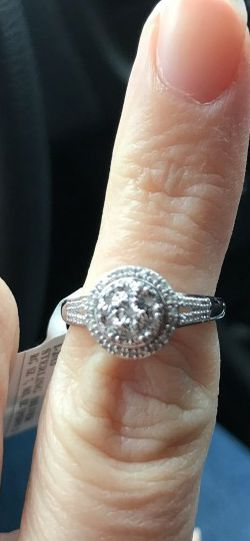 Diamond Round Ring And Matching Earrings for Sale in Stockton,  CA