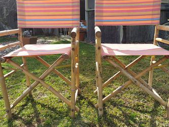 Folding Beach Directors Chairs for Sale in Long Beach,  CA