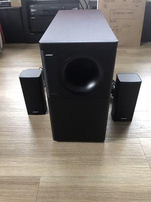 Bose Acoustimass 5 Series V Stereo Speaker System for Sale in Portland, OR