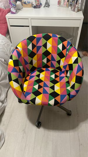 Colorful Desk Chair from IKEA for Sale in Rancho Cucamonga, CA