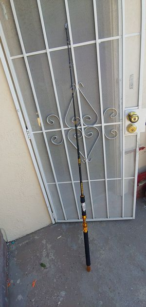 FIBLINK SALTWATER JIGGING SPINNING ROD 1-PIECE HEAVY JIG FISHING ROD for Sale in Las Vegas, NV
