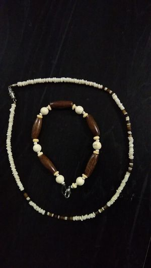 Necklace and ankle bracelet/Beach vibes for Sale in San Diego, CA