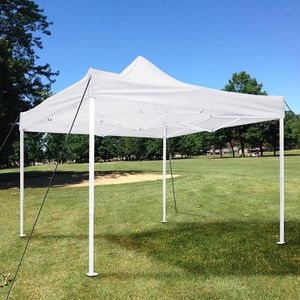 New $90 Heavy Duty 10x10 Ft Outdoor Ez Pop Up Canopy Wedding Party Tent Patio Shelter w/ Bag for Sale in South El Monte, CA