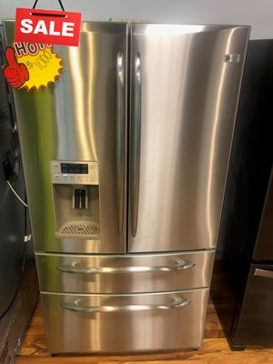 CONTACT TODAY! Refrigerator Fridge GE 36in Wide #1618 for Sale in Greenwood, IN