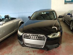 2013 Audi A4 2.0T Premium Plus for Sale in Hallandale Beach, FL