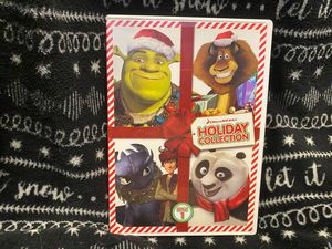 Dreamworks Holiday Collection Shrek the Halls Merry Madagascar dvd christmas movie for Sale in Oregon City, OR