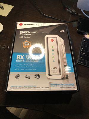 Motorola surfboard modems (2) for Sale in Las Vegas, NV