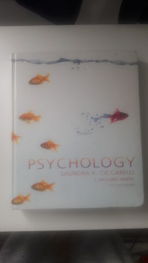 Psychology by Sandra Ciccarelli for Sale in East Wenatchee, WA