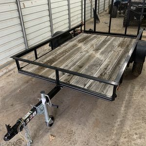 2020 Trailer 5x8 Atv 4 Wheeler Clean Title for Sale in Fort Worth, TX