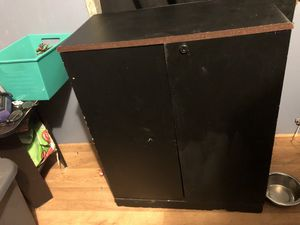 Cabinet with pull out shelve doors for Sale in Greenville, NC