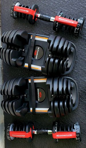 BOWFLEX Adjustable Dumbbell, Fitness Dumbbells Set (Single) 5 to 52.5 lbs Weights for Weight Workout and Strength Exercise in Home and Gym. Like new . for Sale in Tampa, FL