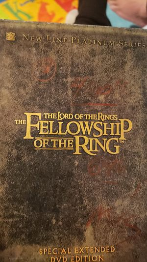 The lord of the rings the Fellowship of the ring for Sale in Santa Ana, CA
