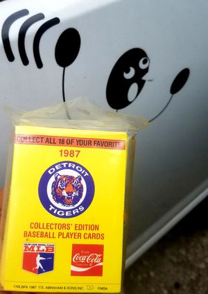 All eighteen 1987 Tigers are here In this Coca-Cola series for Sale in Romulus, MI
