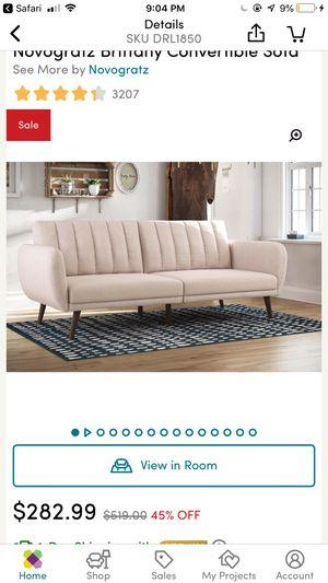 Convertible futon sofa for Sale in Boston, MA