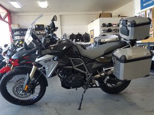 2016 BMW F800 GS ADVENTURE Motorcycle Clean Title 690 Miles for Sale in Millbrae, CA