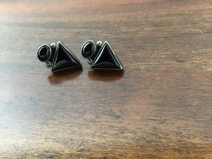 Sterling Onyx Earrings for Sale in Sierra Vista, AZ