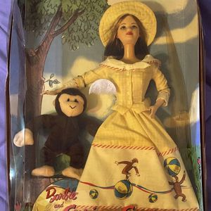 Curious George Collectors Barbie for Sale in Zephyrhills, FL