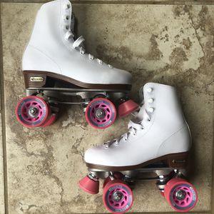 Leather Roller Skates (Size 3) for Sale in Calhoun, LA