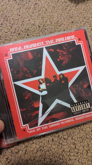 Rage against the machine live at the grand olympic auditorium for Sale in Irvine, CA
