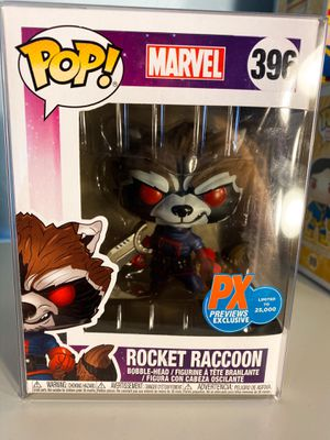Funko Pop Rocket Raccoon PX Previews Exclusive for Sale in Orange, CA