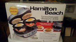 Hamilton Beach Dual Breakfast Sandwich Maker for Sale in Baltimore, MD
