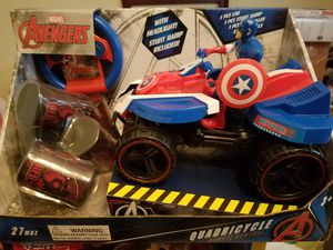 captain America remote control Quad car $20 for Sale in Pasadena, TX
