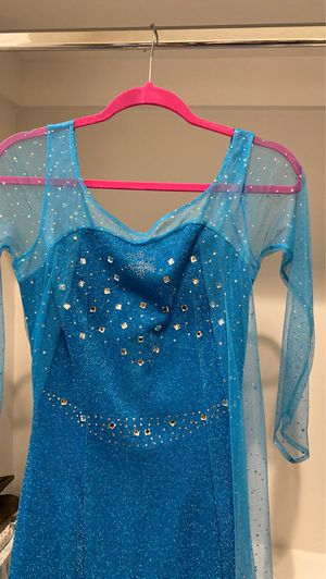 Elsa Frozen dress size small Adult size for Sale in Los Angeles, CA