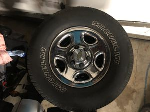 2000 to 2007 Silverado Wheels and Tires for Sale in Tigard, OR
