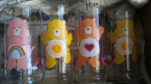 4 Vintage collectable Care Bear drinking glasses for Sale in Henderson, NV