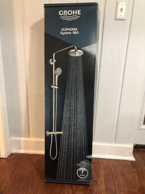 Euphoria Shower System With Thermostat, 2.5gpm, Starlight Chrome for Sale in Ellicott City, MD