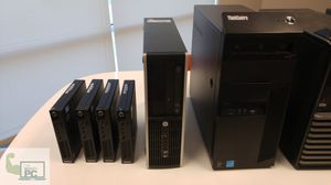 Desktops/Laptops Multi-units discount. We reuse & renovated enterprise grade machines. for Sale in Glendale, AZ