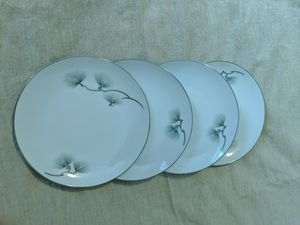 Floral China dishes, Antique vintage dessert plates for Sale in Orlando, FL