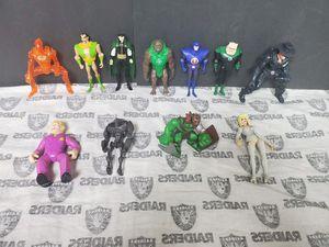 Action Figures ~ Hulk, Green Lantern, Zoro, Human Torch.... for Sale in Santa Ana, CA
