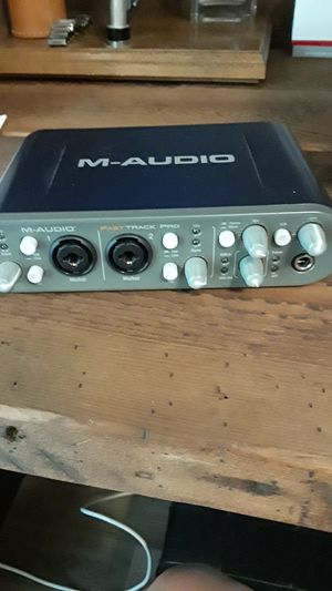 M-Audio fast track pro. for Sale in CTY BY THE SE, TX