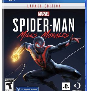 Spider Man PS4 - Miles Morales for Sale in Hialeah, FL
