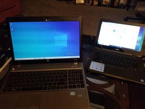 Mini Laptop Dell and big Hp core i3. for Sale in Marietta, GA