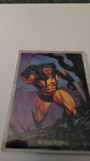 Skybox *Marvel Masterpieces *Wolverine for Sale in Shelton, CT