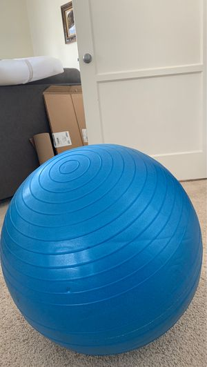 Exercise ball for Sale in San Diego, CA