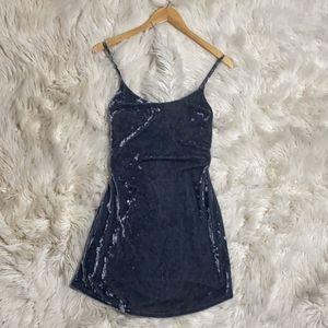 Suede dark grey mini dress for Sale in Glendale, AZ