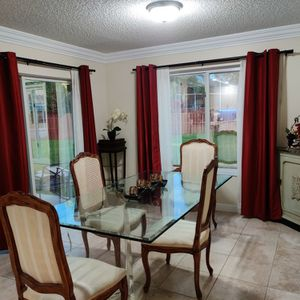 Glass Top Dining Table And Chairs for Sale in Fort Lauderdale, FL