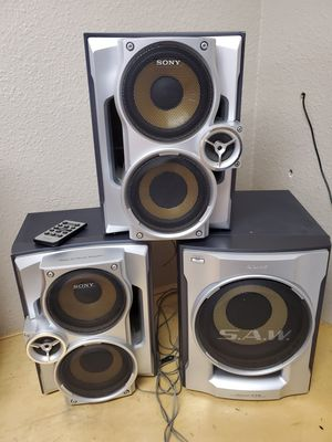 SONY SUBWOOFER SPEAKERS for Sale in Modesto, CA